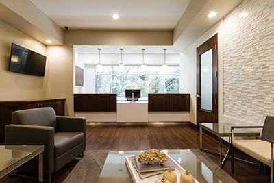 Roseville endodontic office lobby