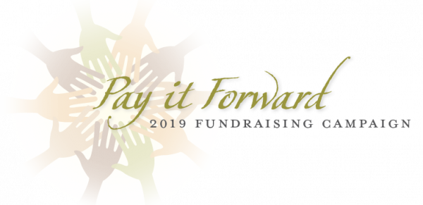 Pay it Forward 2019 fundraising campaign